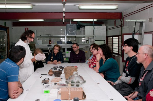 Laboratorio de restauración